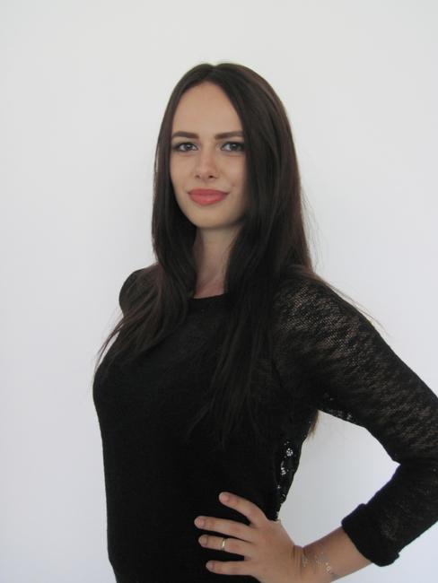 Messehostess Hannah Augsburg