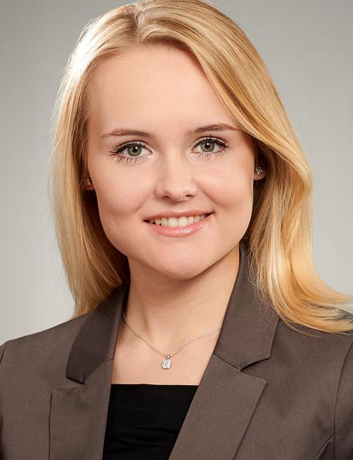 Messehostess Sarah Augsburg